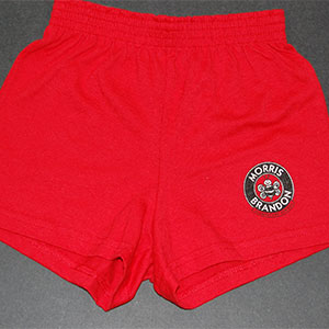 Girls Red Cheer Shorts – Morris Brandon Elementary School