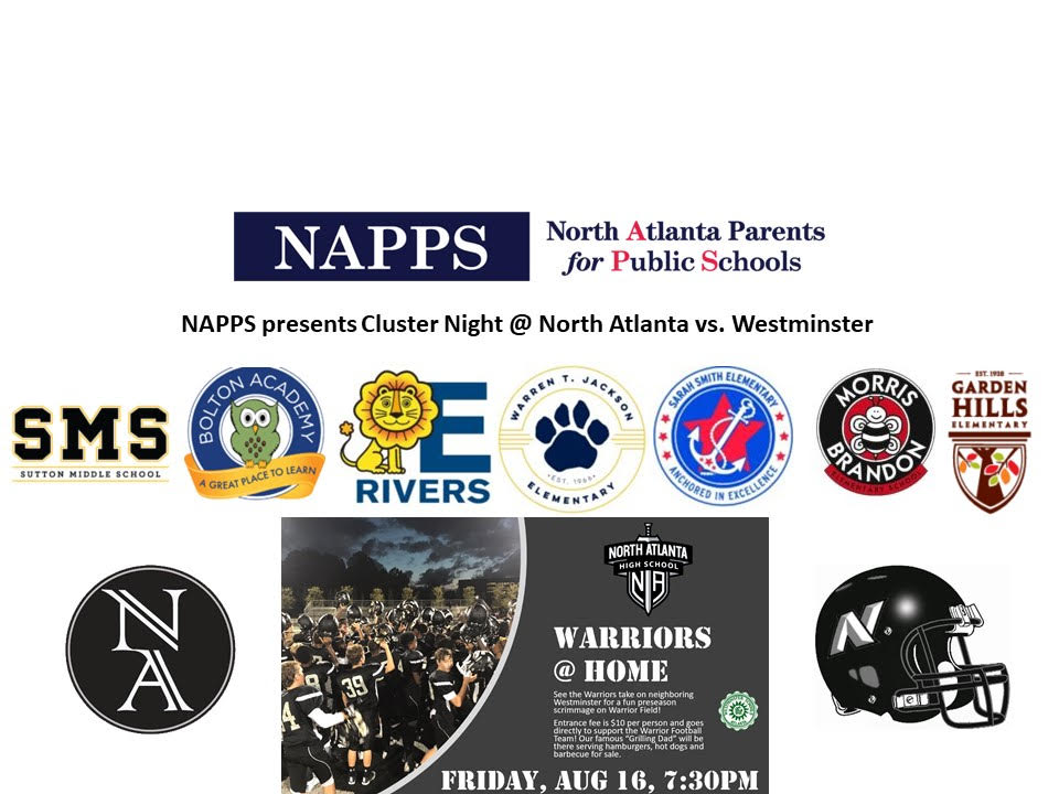 NAPPS Football Cluster Night @ North Atlanta High School